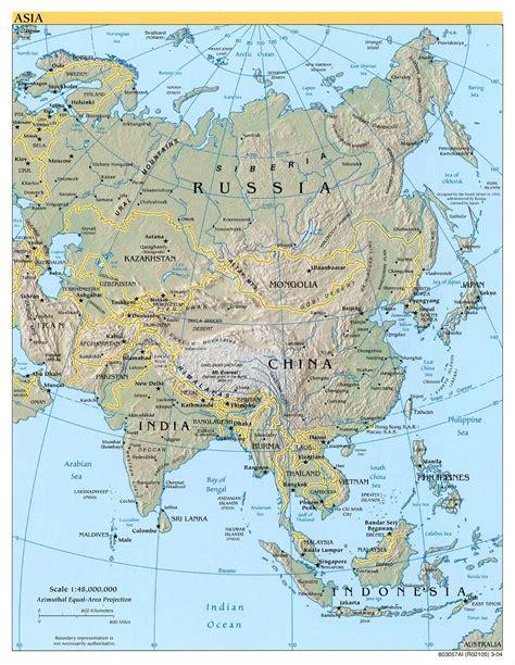 physical asia map resourcesforhistoryteachers nea 4