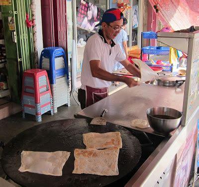 chinese roti canai roti prata  min tong vegetarian
