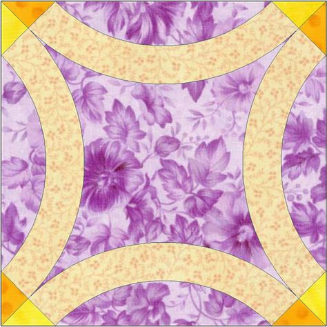 wedding ring quilt templates free plain wedding ring paper templates quilting block