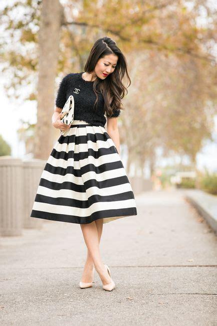 Rok Wanita 1 16 model rok stripe wanita tercakep cuakep