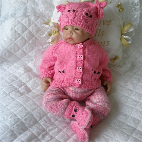 baby doll knitting patterns uk creative dolls designs knitting pattern cardigan set for