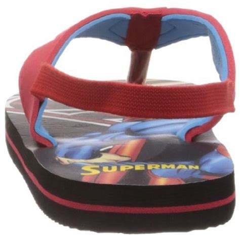 superman house shoes buy superman boys plastic flip flops and house slippers