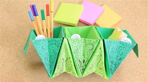 come fare una scrivania come fare un organizer origami per la scrivania
