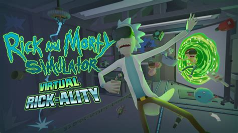 rick and morty rick and morty vr lets you get schwifty with zany items in rick s garage vg247