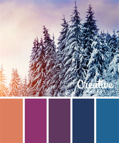 winter color schemes 15 downloadable color palettes for winter creative