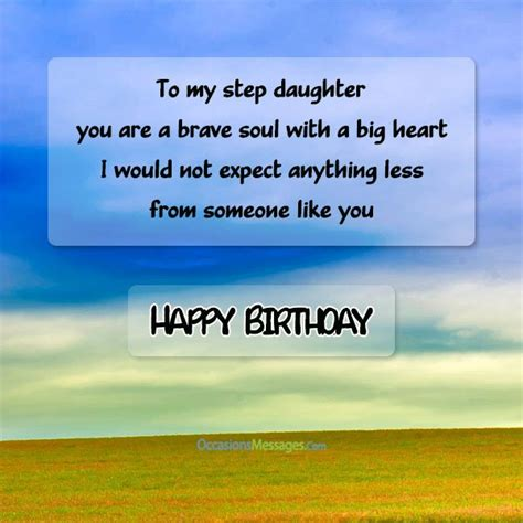 Happy Birthday Step Quotes Step Daughter Birthday Wishes Occasions Messages