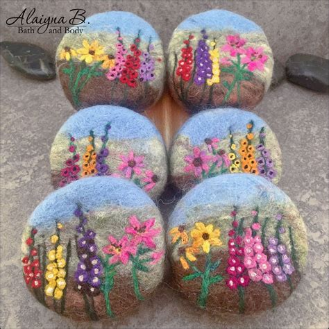 felted garden landscapes soaps cold process handcrafted