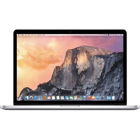 Notebook Macbook Pro Apple 15 4 Quot Macbook Pro Laptop Computer Z0rf Mjlq22 B H B H