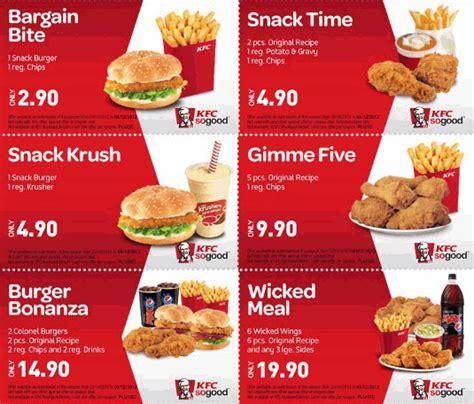 Promo Best Deal 1 best kfc coupon deals coupon codes