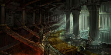 Interior Design Ideas Bedroom Hades Hall Interior Characters Amp Art God Of War Iii