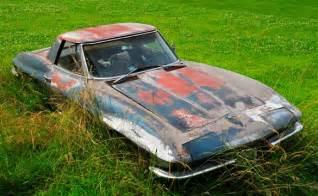 Barn Auto Parts Longtime 1967 Corvette Field Car To Finally Undergo