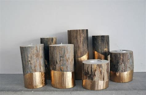 kerzenhalter industrial 8 easy diy wood candle holders for some rustic warmth this