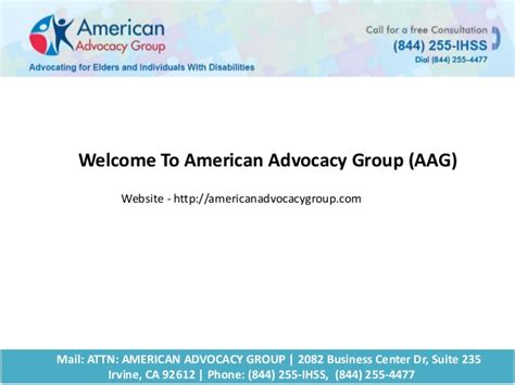 In Home Supportive Services California by In Home Supportive Services By American Advocacy