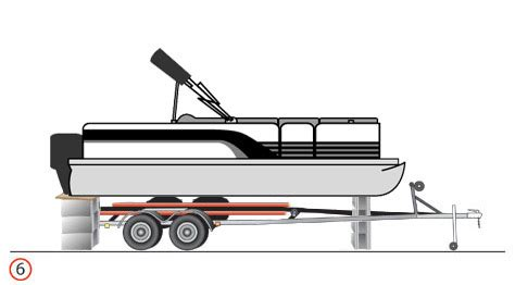 pontoon boat trailer height how to raise a boat