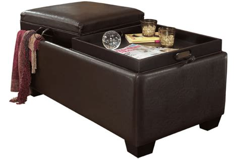 ashley furniture storage ottoman logan ottoman with storage signature design by ashley
