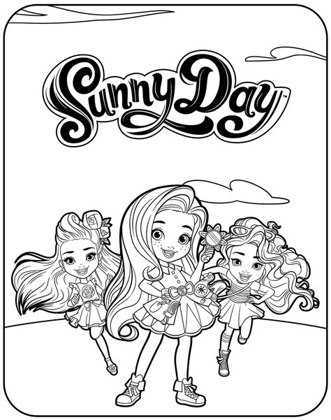 nickelodeon sunny day coloring pages coloring pages