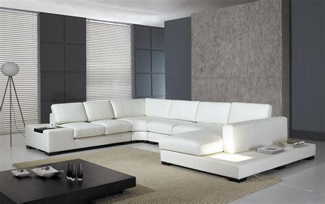 T35 Sectional Sofa T 35 Modern Leather Sectional Sofa