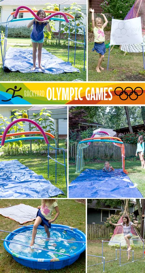 Backyard Olympic by Backyard Summer Olympics A Fort Celebration Of Olympic Proportions Fort Magic