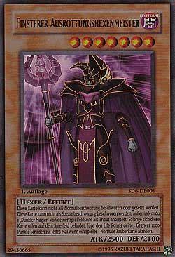 schwarzer magier deck finsterer ausrottungshexenmeister