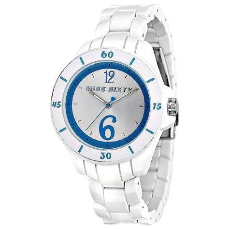 Sweety Silver M60 orologio donna miss sixty m60 sugar policarbonato bianco