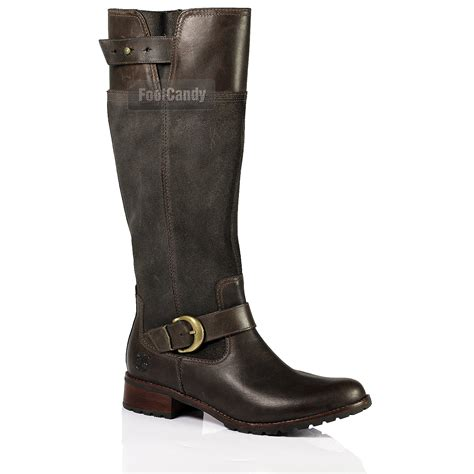 womens timberland knee high biker waterproof