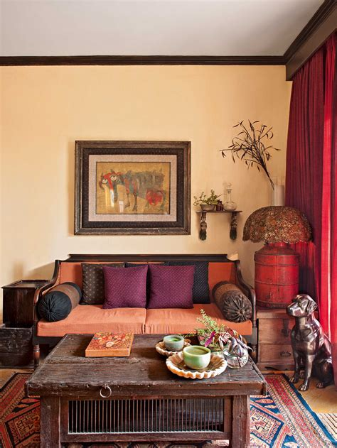 home decoration indian style inside sabyasachi mukherjee s home in kolkata ad india