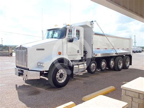 2015 Kenworth T800 Heavy Duty Dump Truck For Sale 400