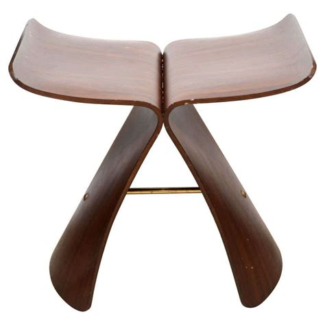 Sori Yanagi Stool by Vintage Quot Butterfly Quot Stool By Sori Yanagi At 1stdibs