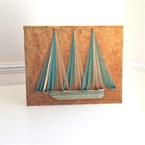 String Ship - featured collectible vintage string 70 s craft