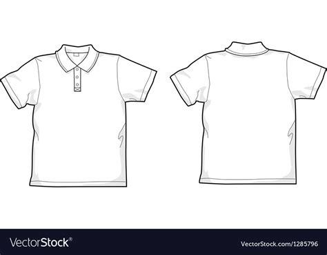 polo t shirt pattern vector white poloshirt vector art download white vectors 1285796