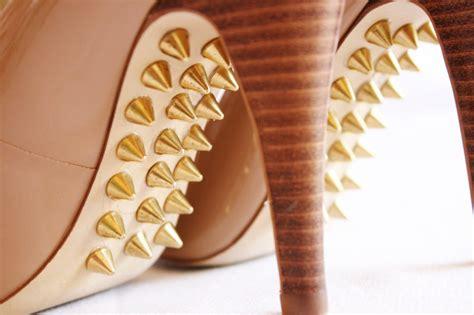 diy shoe soles mr kate diy spiked shoe soles