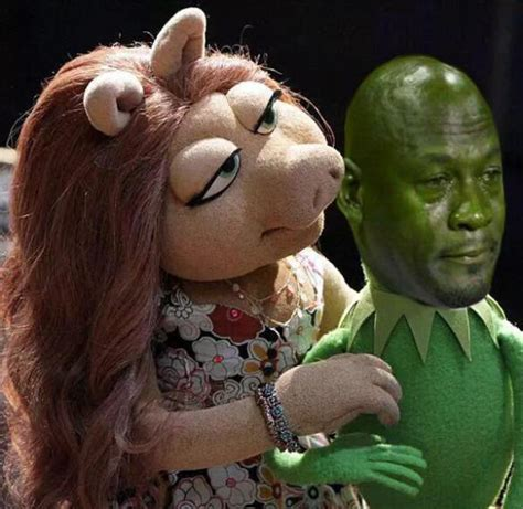 Kermit And Miss Piggy Meme - these frogs ain t loyal kermit the frog miss piggy