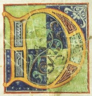 miniature medievali lettere d come dimenticare ognigiornotuttigiorni