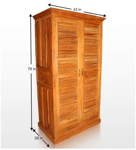 Wood Wardrobes Furniture by Teak Wood Wardrobe By Mudra Wardrobes