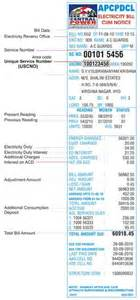 power bill desk get apcpdcl duplicate bill and pay it in hyderabad