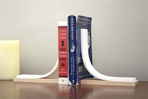 Handmade Bookends - handmade minimal bookends made of like material