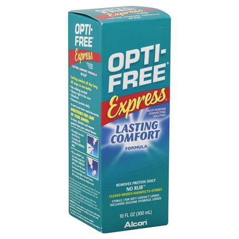opti free express lasting comfort opti free express disinfecting solution multi purpose