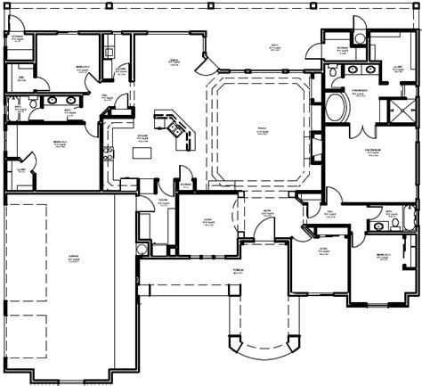 Arizona Custom Home Design Scottsdale Gilbert Phoenix Floor Plans Arizona