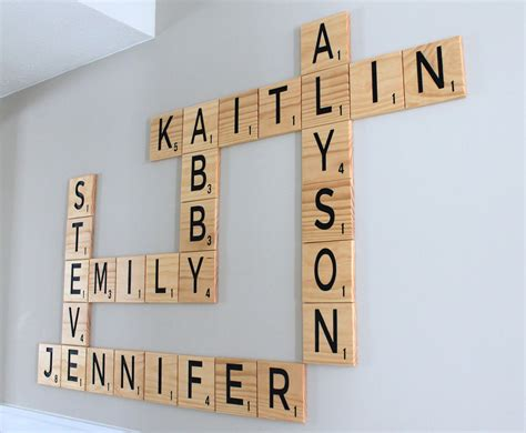 order scrabble letters carved scrabble tiles wall 5 5 wall letters