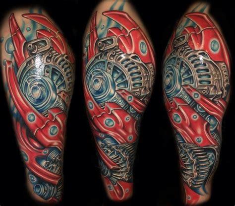 biomechanical tattoo history shoulder biomechanical tattoo by tattoo by roman