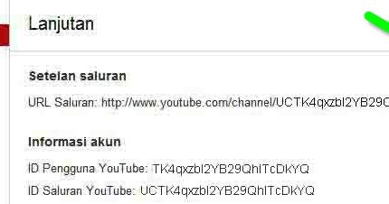 cara membuat url youtube sendiri cara mengubah url channel youtube dengan nama sendiri
