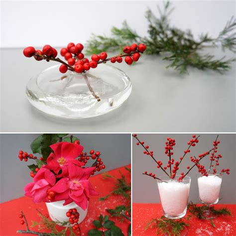 3 red berry centerpiece ideas for your holiday table