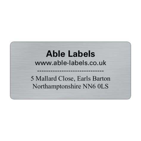 design your own label uk design your own cut labels silver able labels