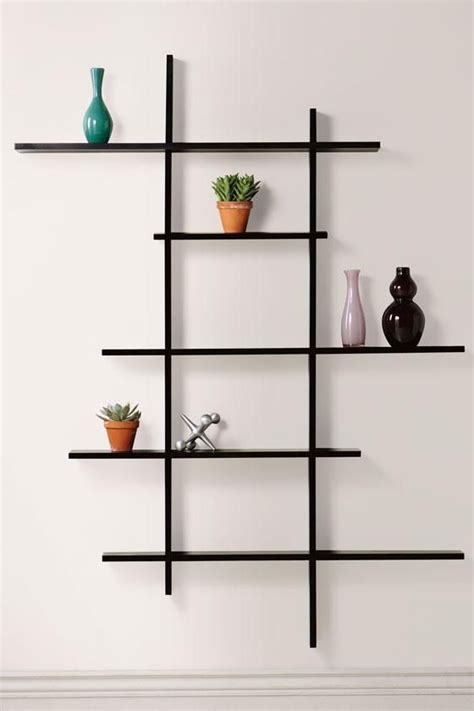 tall contemporary display shelf display shelves