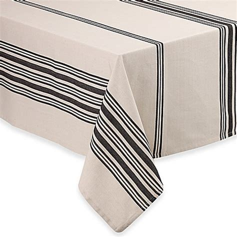 bed bath and beyond union square union square tablecloth in black bed bath beyond