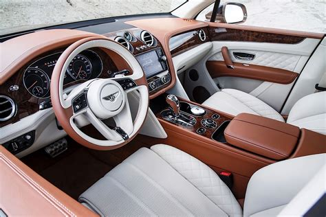 bentley bentayga 2016 interior 2017 bentley bentayga review autoevolution