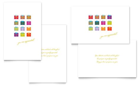 greeting card template 8 5x11 pdf quarter fold presents greeting card template word publisher