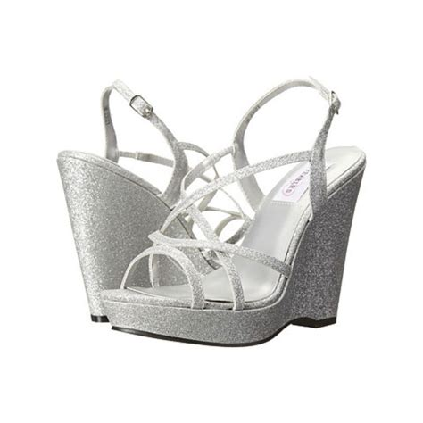 Silver Bridal Wedge Shoes by 40 Best Wedge Bridal Shoes Images On Wedding