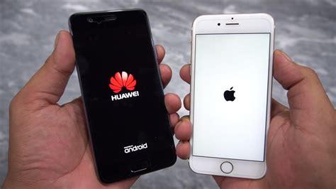 huawei p10 vs iphone 6s speed test urdu