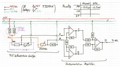 interface load cell wiring diagram circuit diagram maker